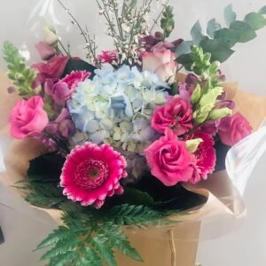 Candy Coloured Bouquet - Flowers