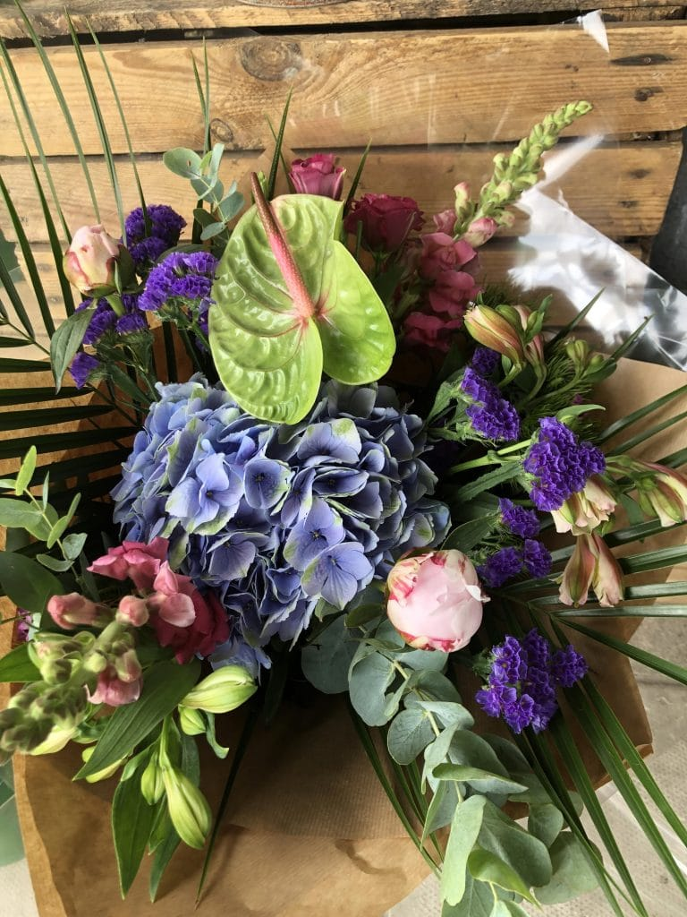 Bluebell -n Day to day flower bouquet